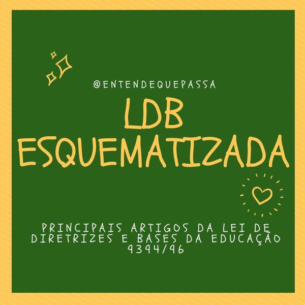 Imagem principal do produto LDB Esquematizada