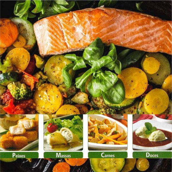 Imagem principal do produto E-book Emagrecendo com saúde