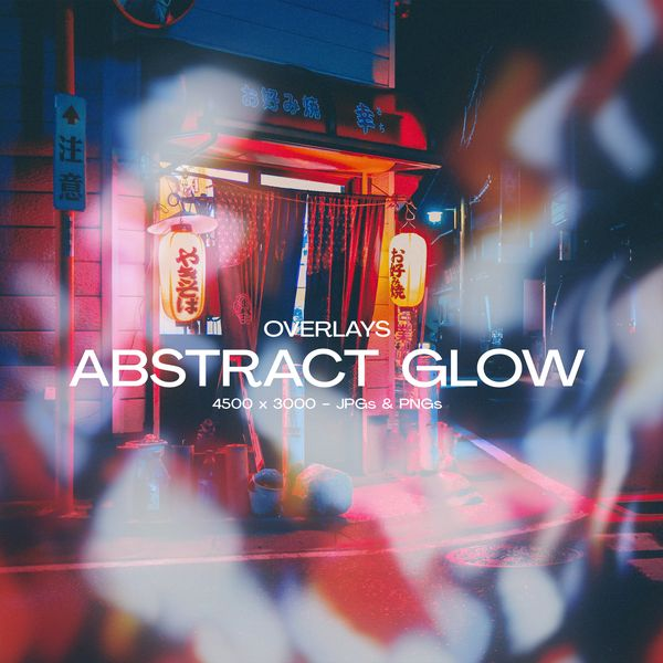 Imagem principal do produto Abstract Glow - Overlays