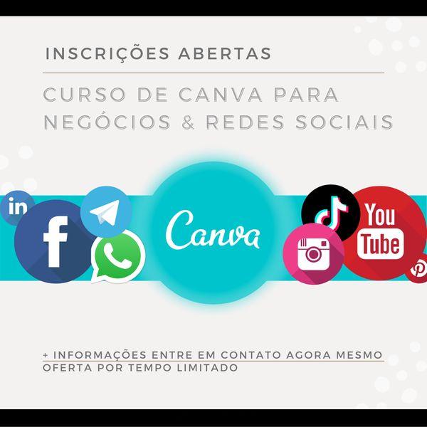 Imagem principal do produto APRENDA CANVA PARA INSTAGRAM, FACEBOOK E YOUTUBE (AO VIVO)