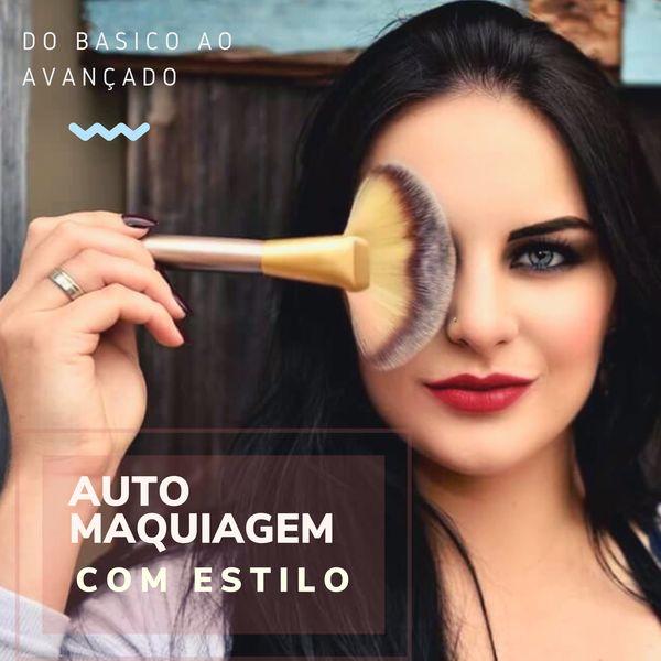 Imagem principal do produto Auto Maquiagem com Estilo