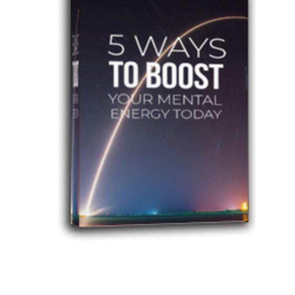 Imagem principal do produto 5 Ways To Boost Your Mental Energy Today