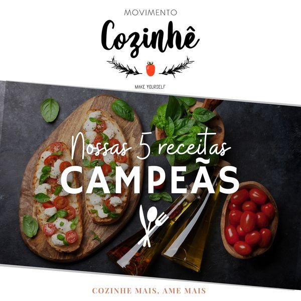 Imagem principal do produto 5 RECEITAS CAMPEÃS PARA IMPRESSIONAR NA COZINHA