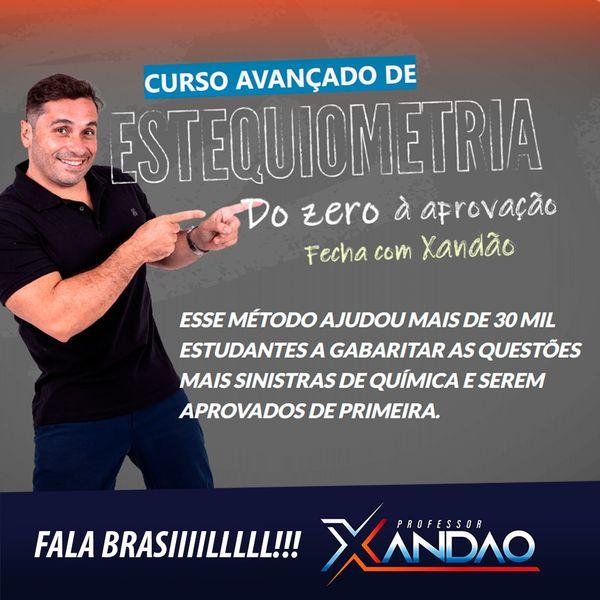 Imagem principal do produto DO ZERO À APROVAÇÃO - ESTEQUIOMETRIA   COMPLETA