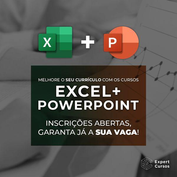 Imagem principal do produto Cursos de Excel e PowerPoint