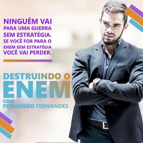 Imagem principal do produto Destruindo o Enem com Fernando Fernandes