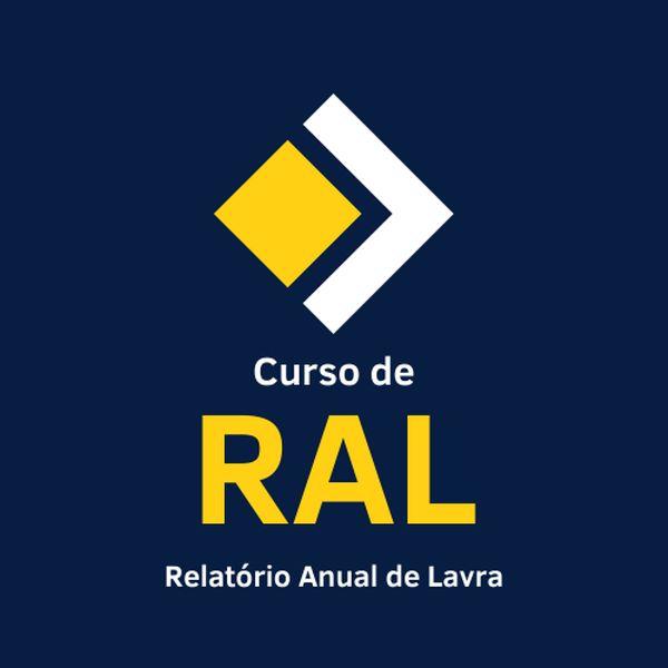 Imagem principal do produto Curso de RAL - Relatório Anual de Lavra