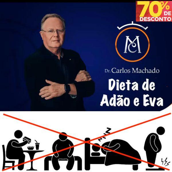Imagem principal do produto Dieta de Adão e Eva - Dr. Carlos Machado