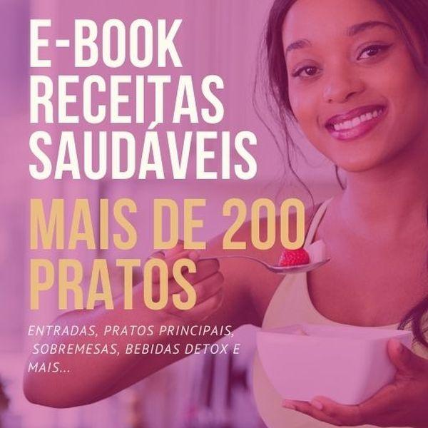 Imagem principal do produto E-book Receitas - Desafio saudável