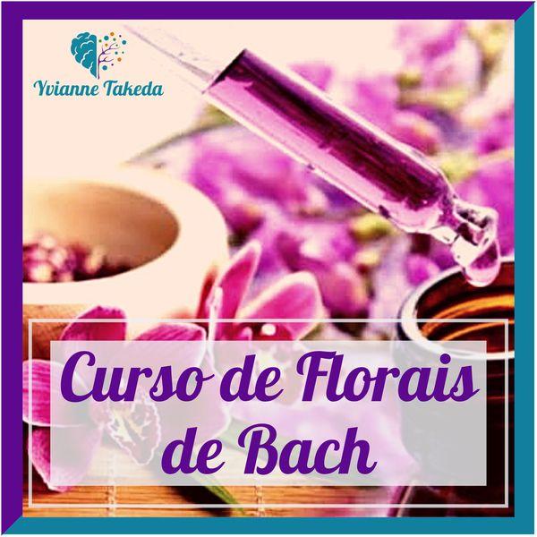 Imagem principal do produto Curso de Florais de Bach com Yvianne Takeda
