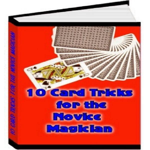 Imagem principal do produto 10 Card Tricks for the Novice Magician