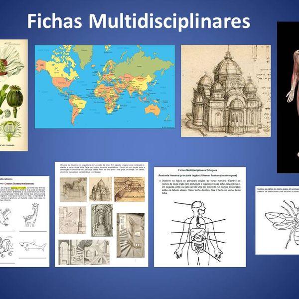 Imagem principal do produto Fichas Multidisciplinares Bilíngues - Volume 1
