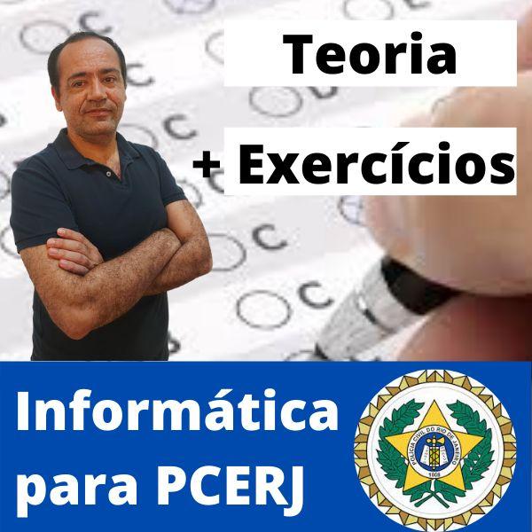 Imagem principal do produto Informática para PCERJ - Professor Paulo Daniel