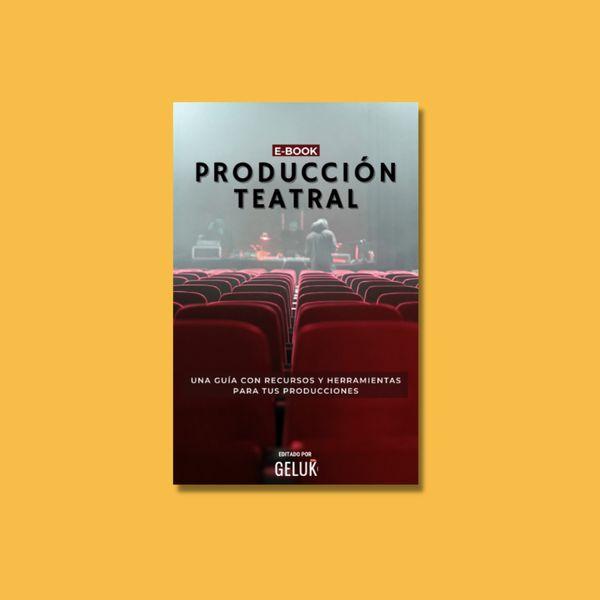 Imagem principal do produto E-Book de Producción Teatral