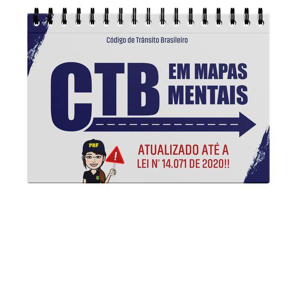 Imagem principal do produto CÓDIGO DE TRÂNSITO BRASILEIRO - CTB EM MAPAS MENTAIS