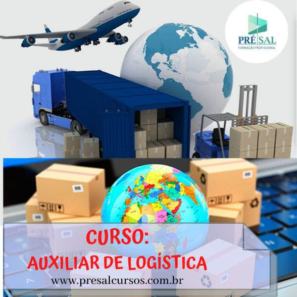 Imagem principal do produto Curso de Auxiliar de Logística e Almoxarifado - 120 horas - ONLINE