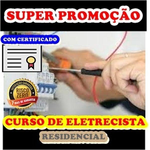 Imagem principal do produto CURSO DE ELETRECISTA- COM CERTIFICADO