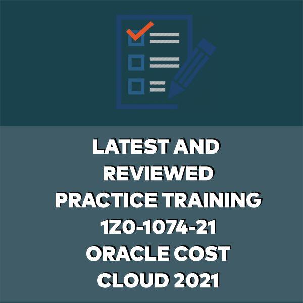 Imagem principal do produto 1Z0-1074-21: Oracle Cost Management Cloud 2021
