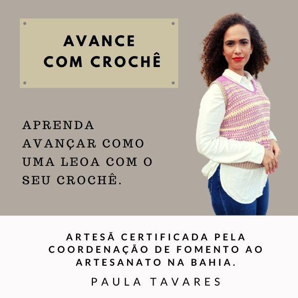 Imagem principal do produto Curso Avance com Crochê.