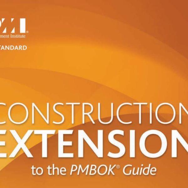 Imagem principal do produto CONSTRUCTION EXTENSION TO THE  PMBOK® GUIDE
