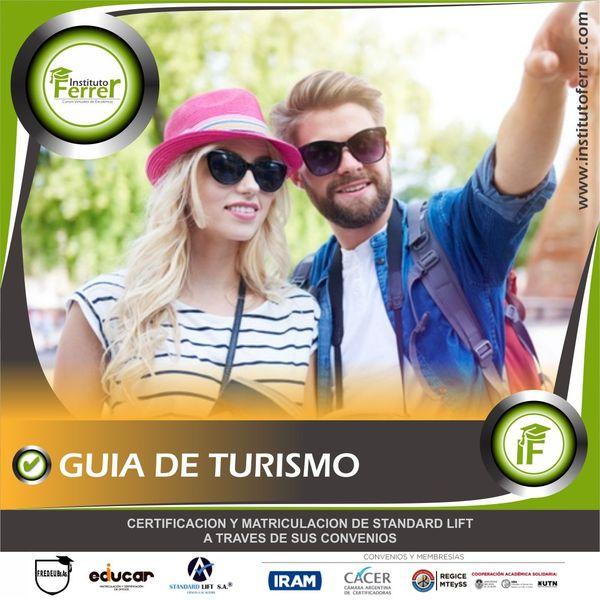 Imagem principal do produto GUIA DE TURISMO