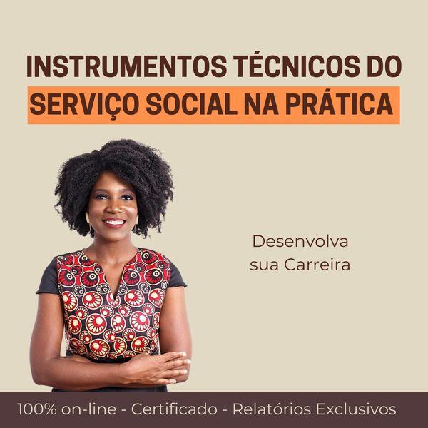 Imagem principal do produto INSTRUMENTOS TÉCNICOS DO SERVIÇO SOCIAL NA PRÁTICA.