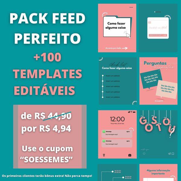 Imagem principal do produto FEED PERFEITO - PACK