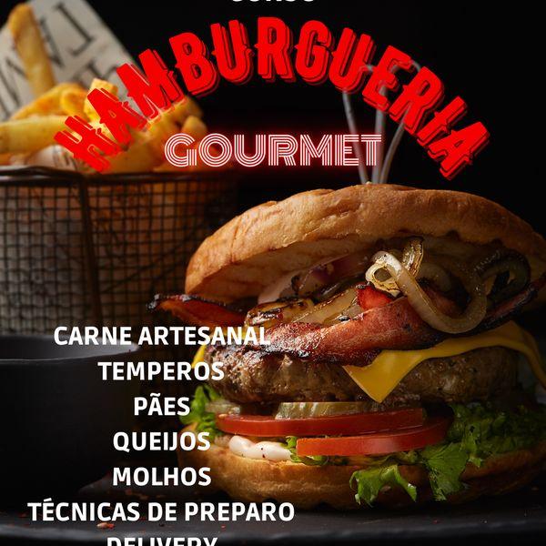 Imagem principal do produto Curso Hamburgueria Gourmet