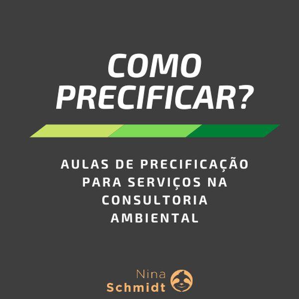 Imagem principal do produto Como precificar serviços na consultoria ambiental?