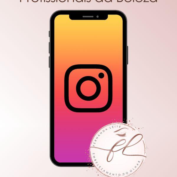 Imagem principal do produto Instagram para profissionais da beleza