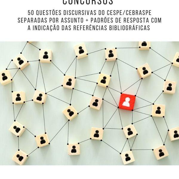 Imagem principal do produto 50 questões discursivas de administração geral (CESPE/CEBRASPE)