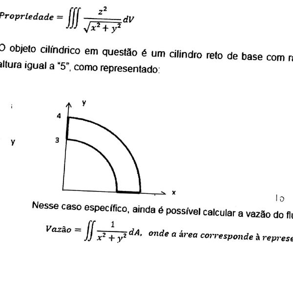 Imagem principal do produto Atividades 1 e 2 de Engenharia de Produção - Cálculo 2