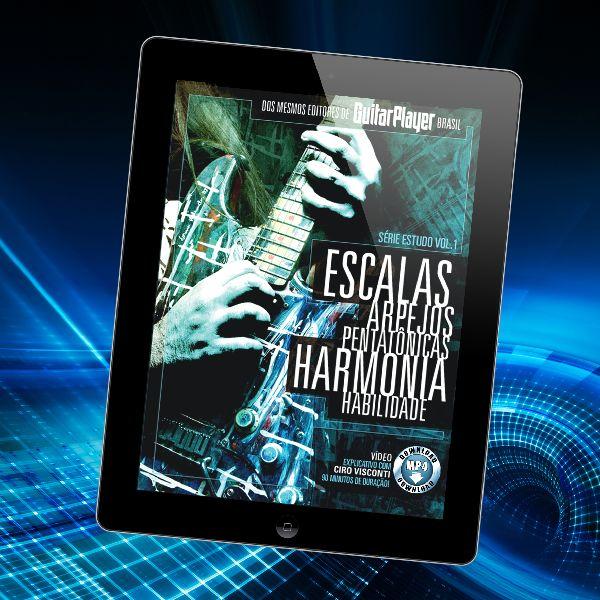 Imagem principal do produto Escalas | Arpejos| Pentatônicas | Harmonia | Habilidade • Ciro Visconti