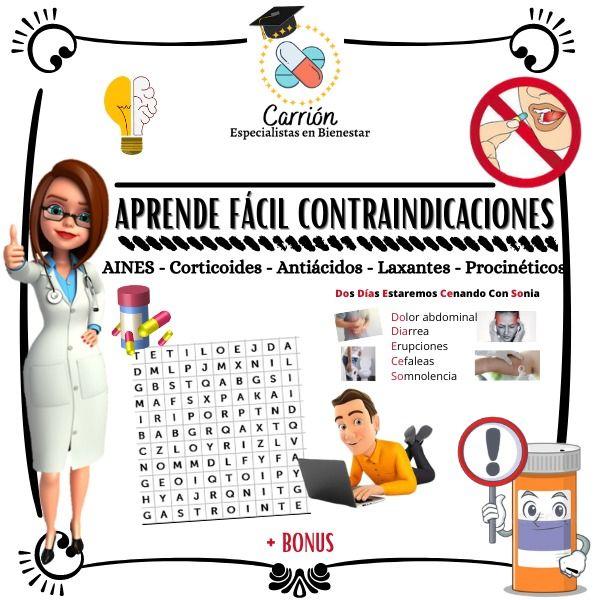 Imagem principal do produto Aprende fácil contraindicaciones