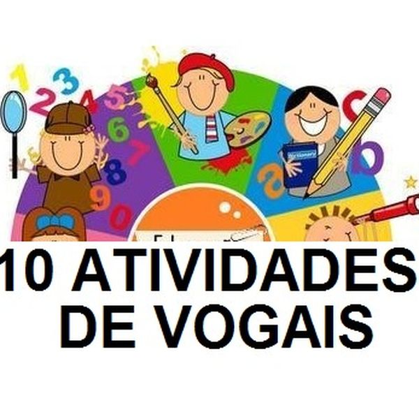 Imagem principal do produto ATIVIDADES PARA EDUCAÇÃO INFANTIL - VOGAIS