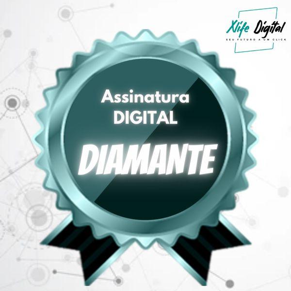 Imagem principal do produto Assinatura Digital Diamante (Anuidade) - Acesso ilimitado a mais de 240 Cursos Online com Certificação