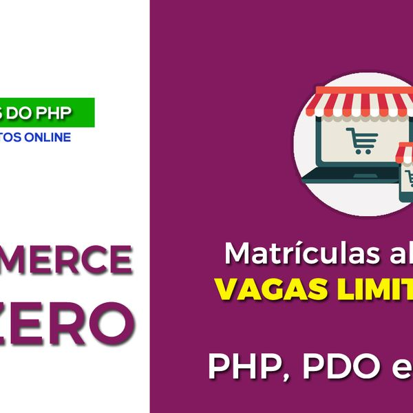 Imagem principal do produto E-Commerce do Zero