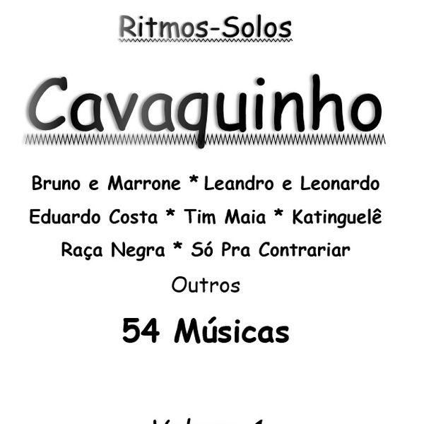 Imagem principal do produto Caderno Cifras para Cavaquinho 54 Músicas com Solos e ritmos