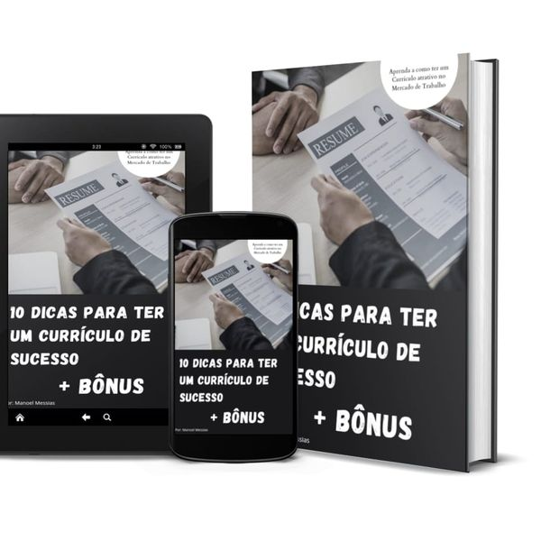 Imagem principal do produto 10 Dicas de Como ter um Currículo de Sucesso + Dicas Bônus