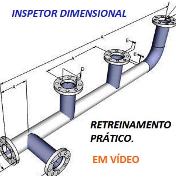 Imagem principal do produto Inspetor Dimensional CD-CL - Treinamento em Vídeo Aulas