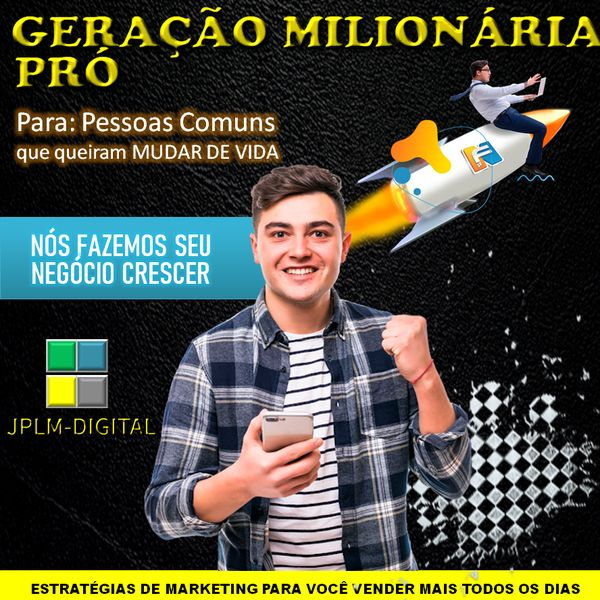 Imagem principal do produto GERAÇÃO MILIONÁRIA PRÓ