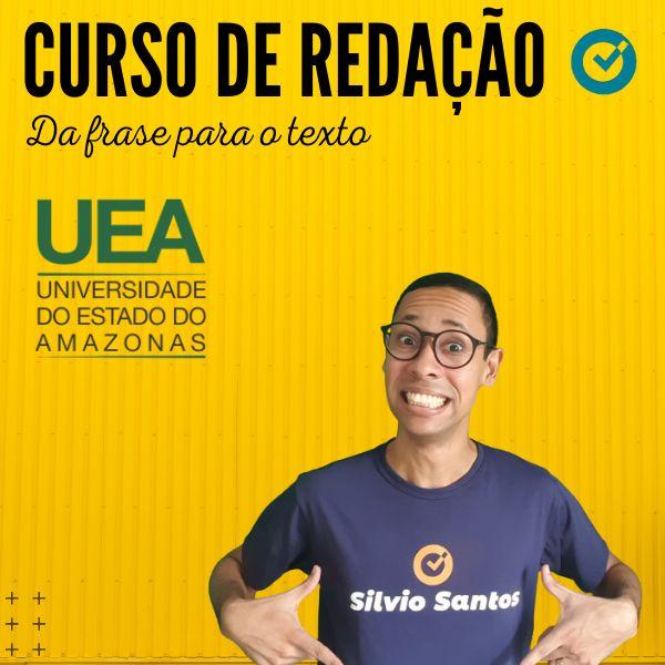 Imagem principal do produto CURSO DE REDAÇÃO - Da frase para o texto - UEA