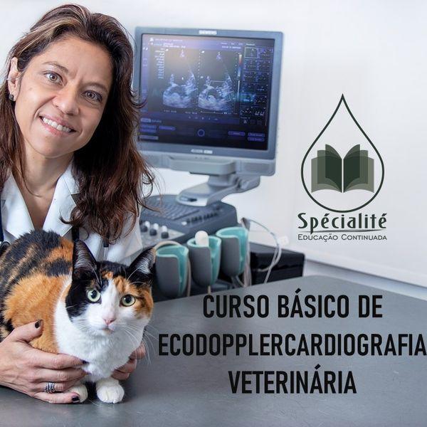 Imagem principal do produto CURSO DE ECODOPPLERCARDIOGRAFIA EM CÃES E GATOS