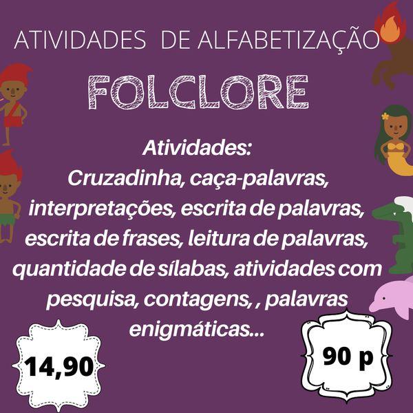 Imagem principal do produto Atividades Folclore