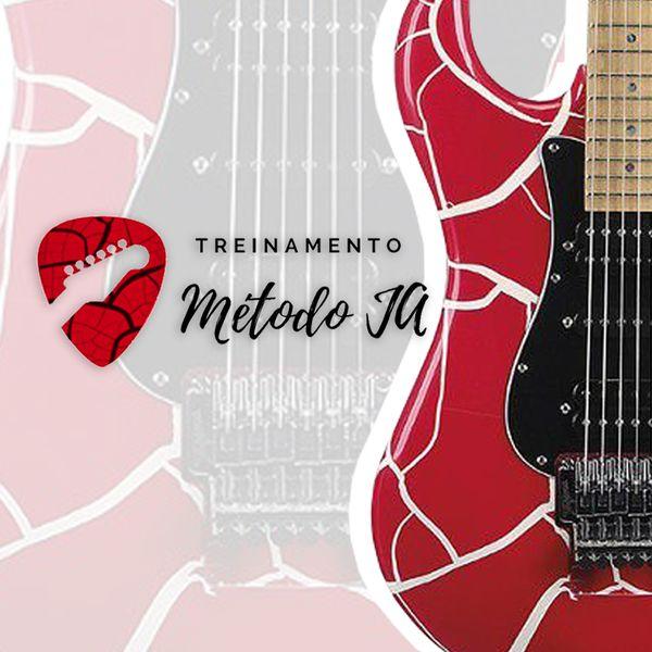 Imagem principal do produto Curso de guitarra - Método JA