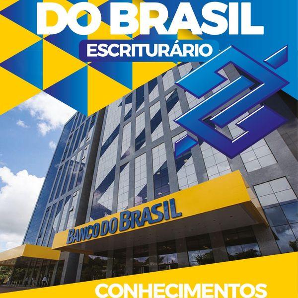 Imagem principal do produto APOSTILA DE CONHECIMENTOS BANCÁRIOS - BANCO DO BRASIL 2021