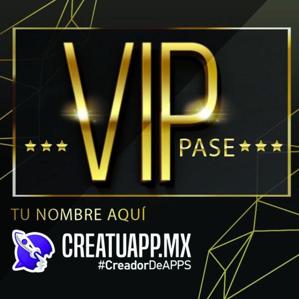 Imagem principal do produto Crea Tu App Pase VIP