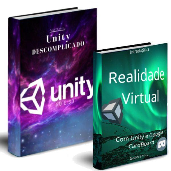 Imagem principal do produto Aprenda a criar jogos 2D e 3D + Introdução a Realidade Virtual