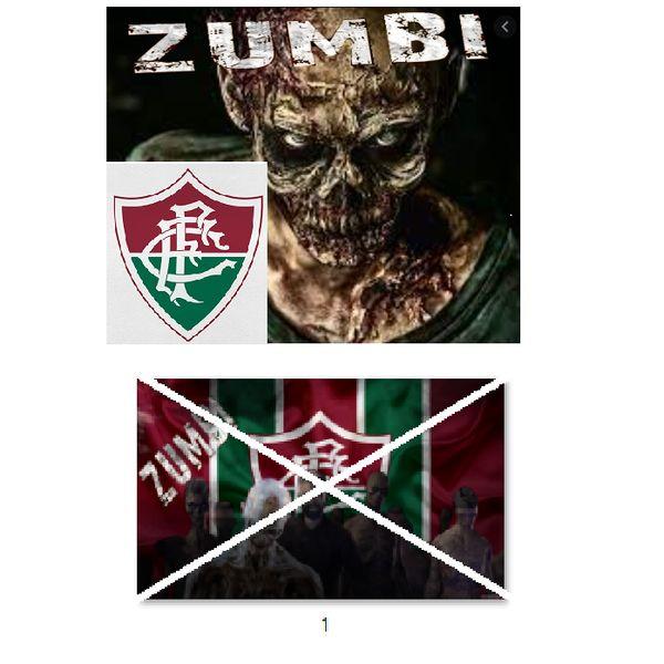 Imagem principal do produto Fluminense zumbi foto para estampar camisetas 1