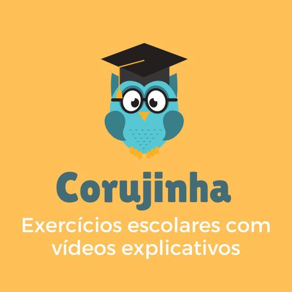Imagem principal do produto CORUJINHA - EXERCÍCIOS ESCOLARES COM VÍDEOS EXPLICATIVOS